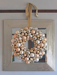 Tired of all the raggedy wreaths you find at the store