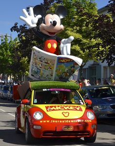Le Journal de Mickey H2O Beetle