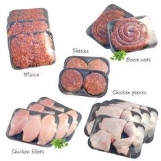 BIG Meat Box,   This amazing meat box comes from our official butchery called 'Die Vleis Winkel'. This butchery only sources red meat that is 100% natural.   PRODUCT INFO  This box includes:  4 x 500g Chicken Braai-packs  4 x 500g Chicken Fillets  4 x 500g Lean Steak Mince  2 x 500g Boerewors  8 x 100g Beef Patties Meat Box, Beef Patty, Protein Sources, Amino Acids, Benefit, Steak, Fresh, Chicken, Big