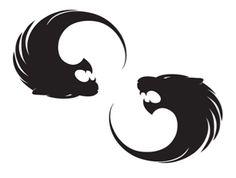 lion infinity tattoo idea (for purbali <3 )