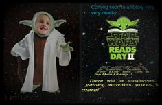The force was strong with this event | An overview of Star Wars Reads Day II at my library.