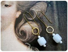 Quick-and-easy DIY earrings (tutorial includes downloadable PDF)