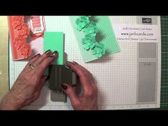 Learn how to create velvety flowers by sponging the edges with Whisper White Ink. If you would like to order any of the products I have used in this video, p...