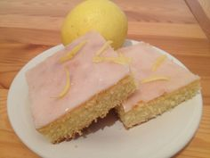 Zitronenkuchen Rezept Snacks, Cheesecake, Desserts, Food, Youtube, Pies, Sheet Pan, Bakken, Lemon Brownies