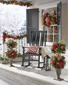 Front Porch Christmas Idea
