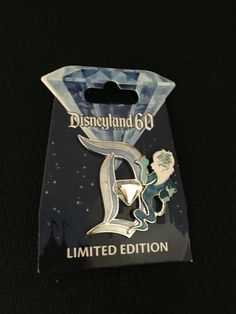 Pin of the day - 7/9/16. Disneyland 60th anniversary Diamond D haunted mansion ghost