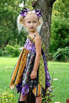 Great Girls dress pattern from Createkids couture.com - Fairy's Double Layer Princess Dress