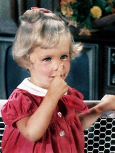Bewitched (TV show) Erin Murphy as Tabitha Stephens. I can't think of a little girl on t.v. that was any cuter than this!