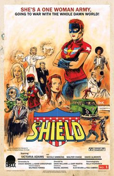 THE SHIELD #1 by Robert Hack