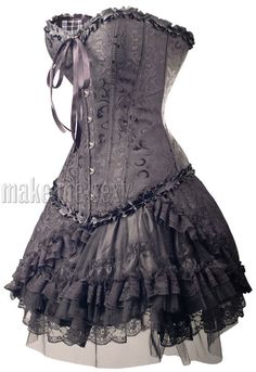 punk goth dress | Gothic Black Corset Lolita Punk Dress Club Wear S 6XL Ladies Wallpaper