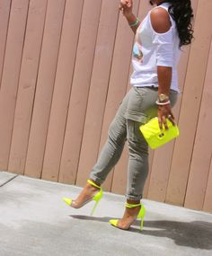 Major Must Haves - Neon  This girl dresses her butt off! She's inspirational as well. Check out her site majormusthaves.com