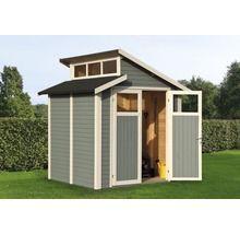 Gerätehaus Konsta Studio Set 2 mit Fußboden und