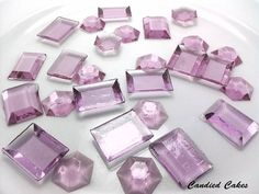 EDIBLE SUGAR JEWELS. would look great in apothecary jars.