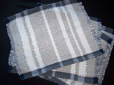 Grey and White stripes....popular but simple. SOLD