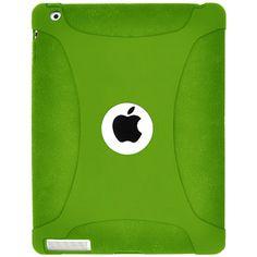 Amzer® Silicone Skin Jelly Apple iPad 4 Case - Green