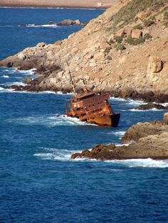 An abandoned wreck by Fourat Zouari, via 500px