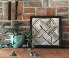 Excited to share this item from my shop: Reclaimed wood wall art - Outdoor Art - Love Knot - Barn Star - Rustic Modern