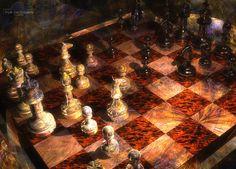 paintings of chess   New Chess Wallpaper by *TLBKlaus on deviantART