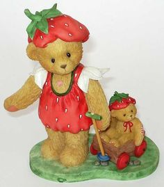 Heidi´s Cherished Teddies Galerie: REBECCA - Come With Me To The Strawberry Patch (739030)