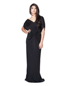 6e8803611dd0d KOH KOH Plus Size Womens Long Sexy Evening VNeck SummeR Cocktail Evening  Gown Maxi Dress Color