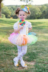Rainbow Confetti Tutu