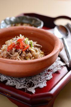 How to make Korean Beef and Bean Sprout Rice Bowl, Kkong-Namool Bap (콩나물밥)