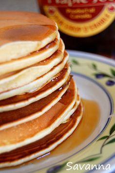 Pancakes rapides de Jamie Oliver...