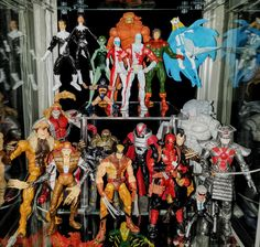 Alpha Flight and Weapon X - Prodigeek's Action Figure Collection