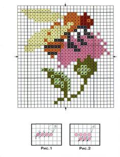 Схемы: Миниатюра Пчелка