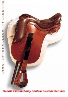 Super cool custom trail saddle