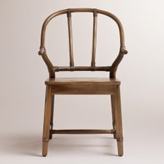 Natural Bowen Wishbone Chair | World Market