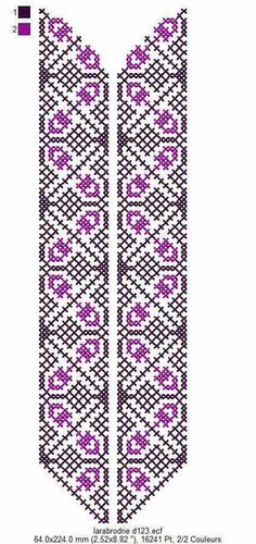 Le Point, Types Of Shirts, Floral Tie, Needlework, Diy And Crafts, Cross Stitch, Embroidery, Crochet, Pattern