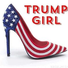 Trump Girl - Please click LIKE if you are female and expect to vote for Trump to show your support! ❤️ my President American Pride, American Girl, American Flag, Girl God, Trump Is My President, Vote Trump, Pro Trump, I Love America, Trump Train