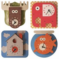 3D Clocks from Modern Moose