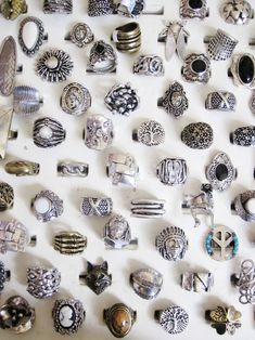 If I had all of these it still wouldn't be enough. I have a serious ring addiction.