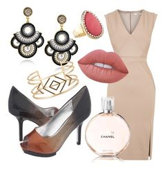 """""""Sun Kissed"""" by avni7 on Polyvore featuring Oasis, Lime Crime, Chanel, Avenue and Stella & Dot"""