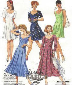 90s McCalls Sewing Pattern 5948 Womens Princess by CloesCloset