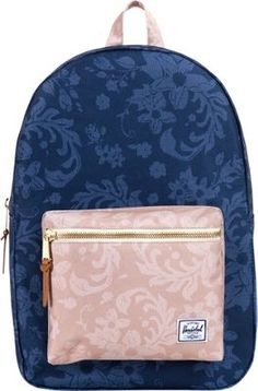 Herschel Supply Co. Settlement Laptop Backpack Navy Waldorf/Khaki -   #Herschel #backpacks #herschelgirlbackpacks #guys #girls #herschelforschool #herschel