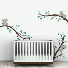 Koala Tree Branches Wall Decal $98 shipped