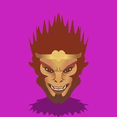Sun Wukong the Monkey King. #monkeyking #dota2 #minimalistic #flatdesign #coreldraw #logo #game #hero #moba #onlinegames #design #graphicdesign #vectorart #vector #art #digitalart #indonesia #dota #creative