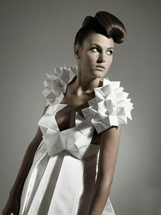 Origami en moda mujer