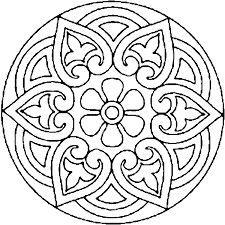 Resultado de imagen de mandalas de mosaicos de la alhambra