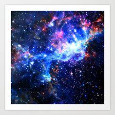 Galaxy Art Print by Matt Borchert