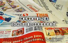 Haha I always make jokes that I want to be an extreme couponer. Those people are WILD.