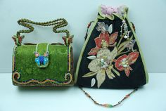 Mary Frances Beaded Bags & Handbags for Women Unique Handbags, Unique Bags, Purses And Handbags, Mary Frances Purses, Mary Frances Handbags, Silver Purses, Vintage Gowns, Beaded Bags, Butterfly Flowers