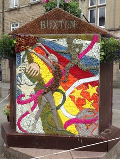 Buxton Well Dressing 2014, Children's Well