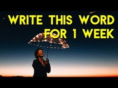 Abraham Hicks 2018 - Write this word for 1 week and focus on the the feeling of it - YouTube