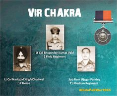 08 Sep 65 Exhibited sheer courage leadership & determination in the face of enemyawarded #http://VirChakrapic.twitter.com/dBnaTdL9wA #IndianArmy #Army