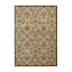 Found it at Wayfair - New Zealand Handmade Brown Area Rug