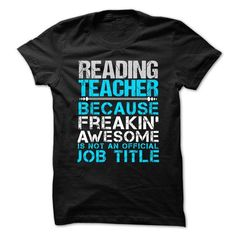 Love being an Awesome READING TEACHER T Shirts, Hoodies. Check price ==► https://www.sunfrog.com/No-Category/Love-being-an-Awesome-READING-TEACHER.html?41382 $21.99